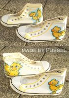 Chocobo Chucks by Fussel-chan