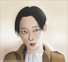 Rivaille by ReyTatsuno