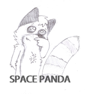 Space Panda Returns (Sketch) by TheWTFage
