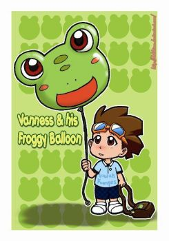 Vanness and Froggy by didihime