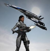 Mass Effect:  Under Fire by CharlesWS