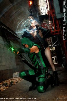 Green Arrow and Black Canary 7 by Superchica