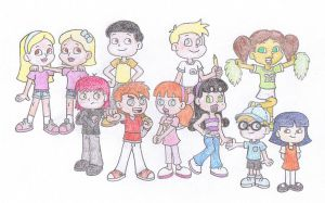 Team Challengers - The Whole Gang by TheAwesomeWorld