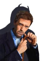 Hugh Laurie - Dr House as Imp by lensman888