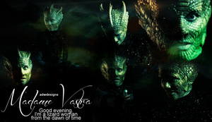 Madame Vastra Blend by feel-inspired