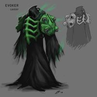EVOKER by thevampiredio