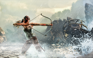 Tomb Raider - Unofficial Wallpaper WITHOUT LOGO by TombRaider-Survivor