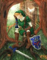 Exhausted Link by Skogflickan