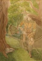 Legolas of Mirkwood by Lathron