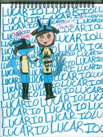 My obsession over Lucario by LucarMoonshadow12345