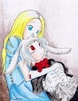 White Rabbit by hewhowalksdeath