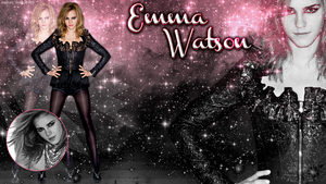 Emma Watson Wallpaper by britsnpieces