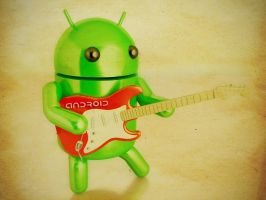 android goes rock by alfinkahar