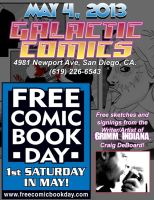 Free Comic Book Day Ad by craigdeboard111
