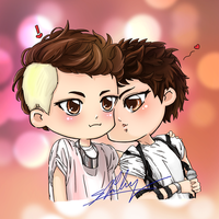 [JongKey] Kiss - Lucifer by shinky2309