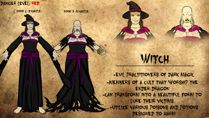 Witch Journal Entry by Vectorman316