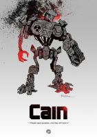 Sketchdrive: Cain by PencilInPain