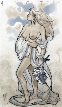 Helen of Troy by AdamHughes