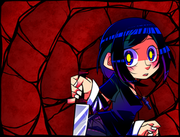 Lain's Horrible Adventure Title Remake by Krooked-Glasses