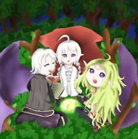 (ContestE.-w/story) FE:A - Henry, Nowi and Nah by Danicky
