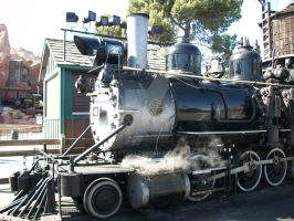 Knotts Ghost Town and California Railroad by Jetster1
