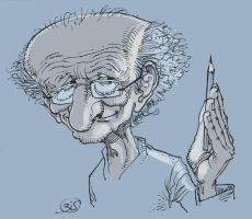 Jean Giraud by Bisart