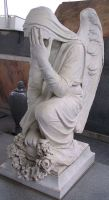 Rossville Cemetery Statue 25 by Falln-Stock