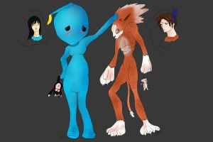 FF8 Dresspheres: Mascots by VanityElric