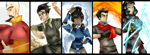 The Legend Of Korra by chorchori