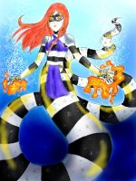 Sea krait naga lady by KittyLiou