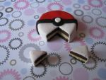 pokeball cake by Vocalist-RedSpade