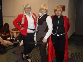 Winry, Ed, and Al by eburel506