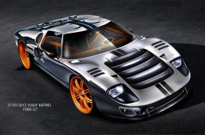 2012yusufbatirel ford gt40 by yusufbatirel