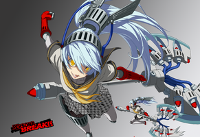 Shadow Labrys Break by ShadowHibari