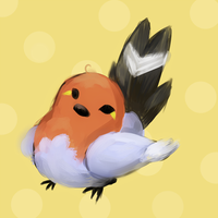 Fletchling by DingDingy