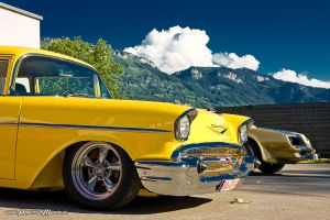 yellow 57 by AmericanMuscle