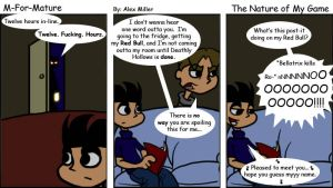 The Nature of My Game by MFM-comics
