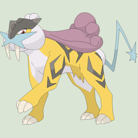 Pokemon Base 117~Raikou 1~ by Xbox-DS-Gameboy