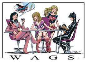 WAGS(wifes and girlfriends superheroes) by IwanNazif