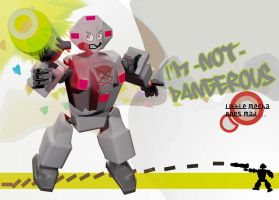 little mecha goes mad by andry2fast