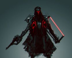 Darth Caduceus Star Wars Fanart by benedickbana