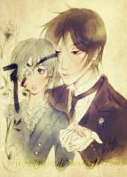 His Butler, Enchanting. by flying-to-you