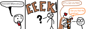 Stick Dude Comix - 3 by TheGame22q