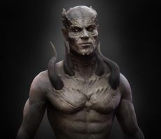 Demon by Leif Stalinsky by Leifart