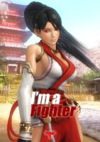 Momiji I'm a Fighter by EnlightendShadow