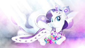 Wallpaper ~ Princess Platinum by Makkah-Chan