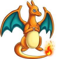 Charizard by Piniee