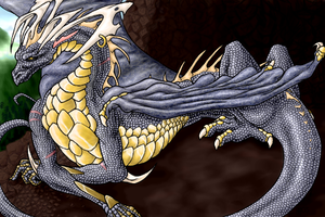 The Eldest Dragon by Kihari