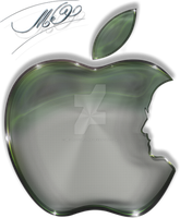 apple logo by cooliographistyle