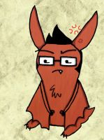 A Little Angry Conbat by DRei-chan